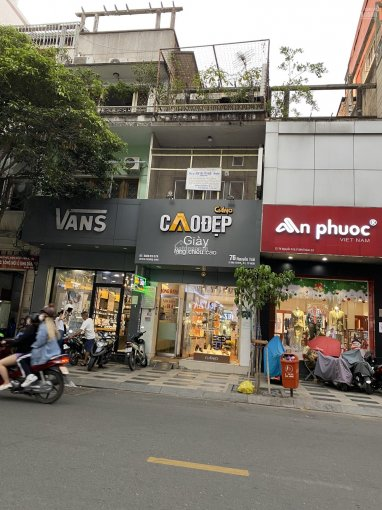 Mặt tiền đường Nguyễn Trãi, Phường Bến Thành, Quận 1, DT: 4x36.6m 1 lầu, giá 100 tỷ ảnh 0