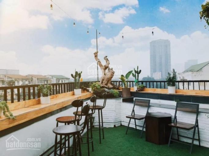 Cho thuê MBKD 60m2 (tầng 8 thượng) tòa văn phòng ngã tư hoàng quốc việt làm mô hình cafe city view ảnh 0