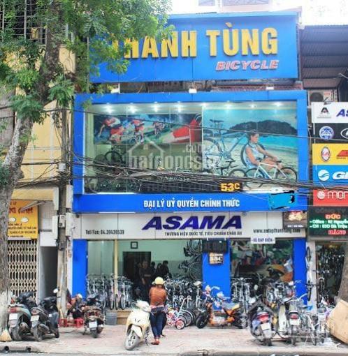Gấp! Cho thuê nhà mặt phố Trần Khát Chân, 90m2 x 3 tầng, 6m mặt tiền giá 43 triệu/th ảnh 0
