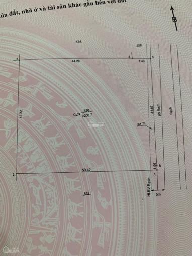 Đất An Tây 68 đi vào 200m DT 2050m2 CLN giá chỉ 1,13 triệu/m² ngang 41x50m. LH 0943976139 ảnh 0