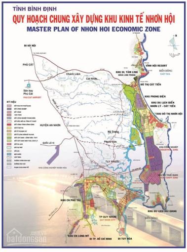 Chính chủ bán đất mặt đường Tỉnh lộ 640, view biển, sổ đỏ thổ cư 100% đã quy hoạch tại KKT Nhơn Hội ảnh 0