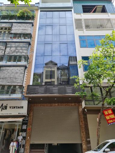 Cho thuê tòa nhà MP Trung Hòa - Trần Duy Hưng. DT 100m2 x 8 tầng, MT 6m ảnh 0