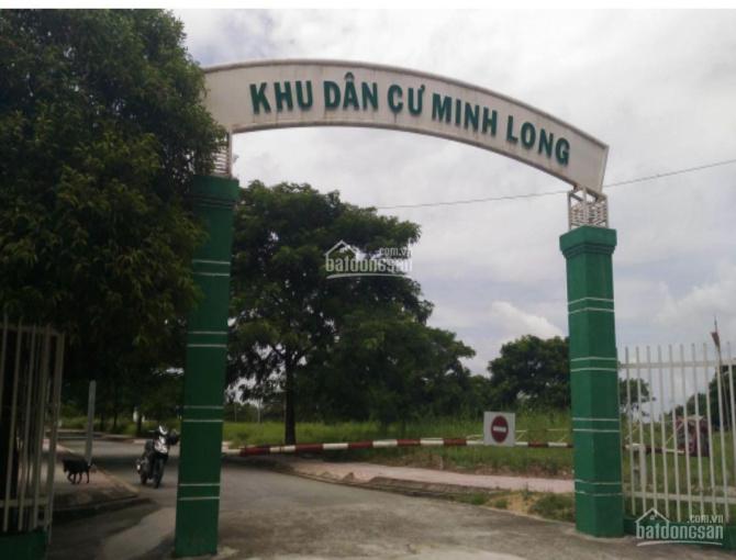 Đất nền KDC Minh Long, Huỳnh Tấn Phát-Nhà Bè, gần KDC Hồng Lĩnh. Trả trước 1tỷ99/100m2, 0938567270 ảnh 0