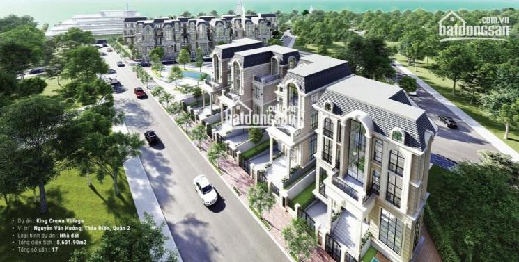 Chuyên bán biệt thự King Crown Thảo Điền, nhiều vị trí đẹp, giá bán tốt nhất cho khách đầu tư ảnh 0
