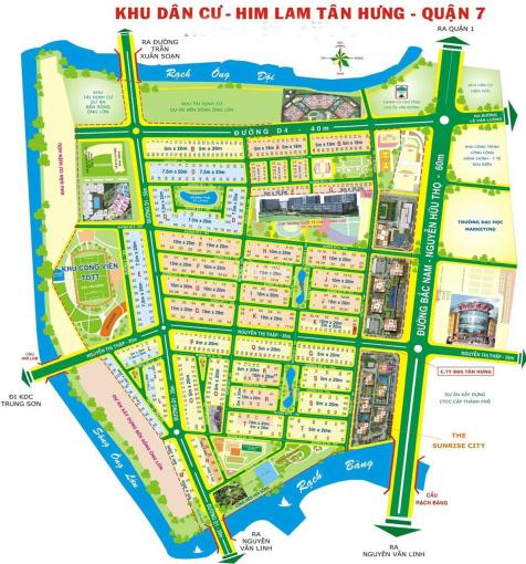 Kẹt tiền bán gấp căn nhà mặt tiền đường Nguyễn Thị Thập Him Lam Kênh Tẻ ảnh 0