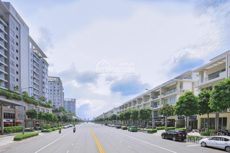 Cho thuê nhà phố thương mại đường Nguyễn Cơ Thạch, khu Sala DT: 7x24m, 1 hầm, 4 lầu: 0973317779 ảnh 0