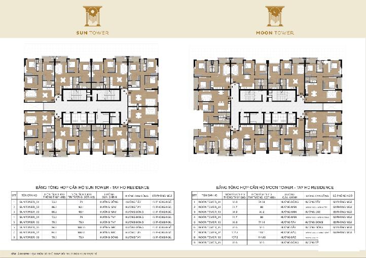 Bán rẻ CHCC HDI Tây Hồ Residence, 1808-Sun: 70,45m2 & 1806-Moon: 94,67m2, 40tr/m2, 0985752065 ảnh 0