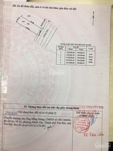 Bán đất mặt tiền Nguyễn Thị Đăng, xã Tân Thạnh Đông, Củ Chi. DT 6m x 20m, sổ hồng cầm tay ảnh 0
