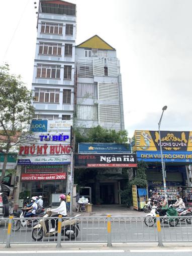 Bán KS mặt tiền Nguyễn Thị Thập Q7, DT 6x33.5m, XD trệt 6 lầu, SHR, giá 38 tỷ, LH 0901 294 946 ảnh 0