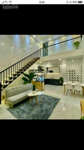 Bán nhà 1 trệt, 1 lửng mới hoàn thiện tặng kèm hết nội thất như hình ảnh 0