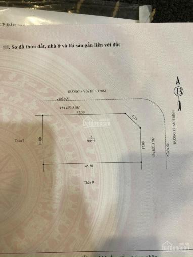 Bán đất hỗn hợp mặt đường Thanh Bình, thành phố Hải Dương ảnh 0