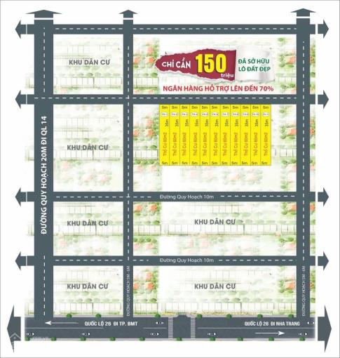Đất nền có thổ cư giá rẻ nhất trong khu vực Thành phố Buôn Ma Thuột, tính thanh khoản cao ảnh 0
