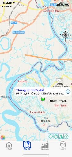 Chính chủ bán đất sổ đỏ Vĩnh Thanh, Nhơn Trạch, 79m2 mặt tiền x18m, đường Công Lý ảnh 0