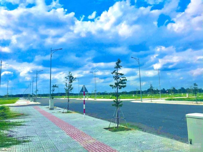 Bán gấp lô đất mặt tiền đường 25C ngay trung tâm Nhơn Trạch, nối phà cát lái đến sân bay Long Thành ảnh 0