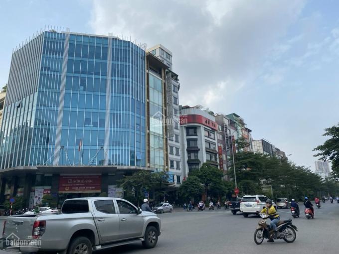 Bán nhà mặt phố Võ Chí Công 100 tỷ 430m2 mặt tiền 15m lô góc 2 mặt thoáng thổ cư 100% xây cao tầng ảnh 0