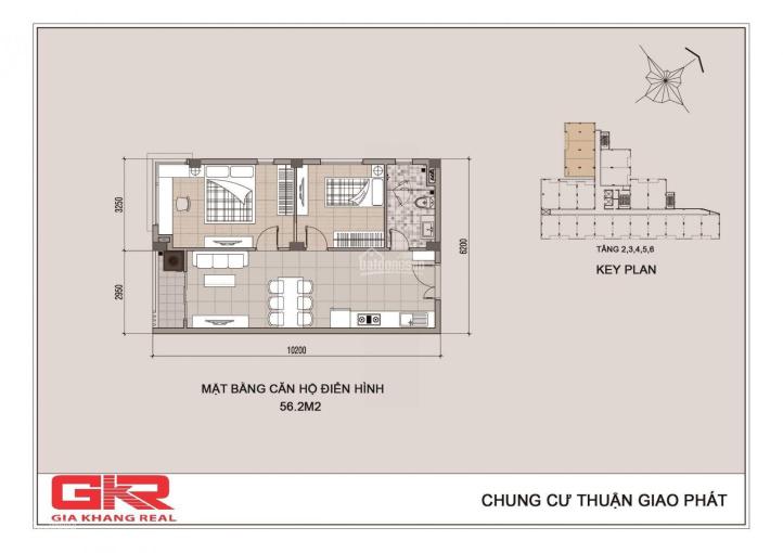 Căn hộ 62m2, 2 phòng ngủ, nhận nhà ở ngay - giá 1,250 tỷ (hỗ trợ vay hơn 600 triệu) - 0901919900 ảnh 0