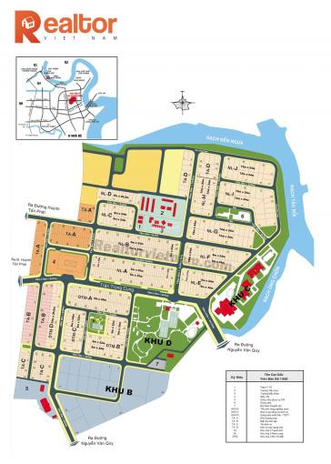 Bán nhanh 5 nền đất KDC Nam Long, MT Trần Trọng Cung Q7 DT 125m2 giá bán 30tr/m2 SHR. LH 0938662295 ảnh 0