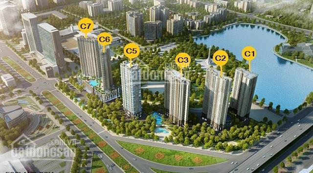 Bán căn 2PN, 2 VS diện tích 85m2 tòa C3 D'Capitale Trần Duy Hưng, giá 3.7 tỷ, LH: 0968762355 ảnh 0
