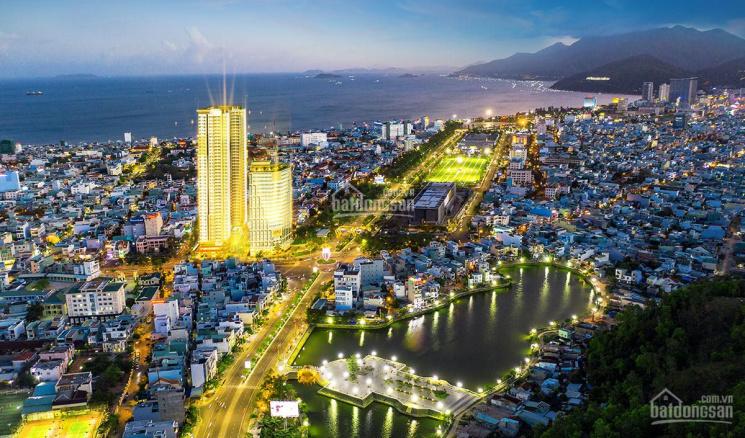 Căn hộ Grand Center số 1 Nguyễn Tất Thành 4 mặt tiền đường, biểu tượng TP CK (3+18)%. LH 0908207092 ảnh 0