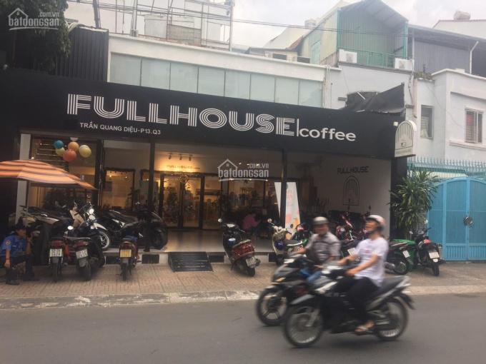 Nhà cho thuê - đường Trần Quang Diệu, Quận 3 (12x18m) Trệt, 1 lầu, ST ảnh 0