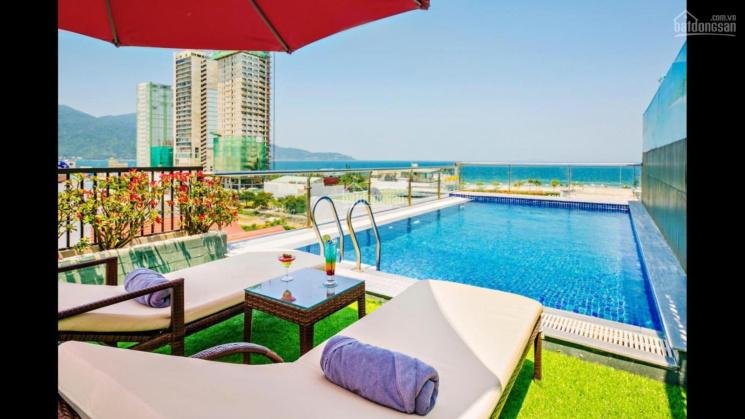 Bán gấp khách sạn Đà Nẵng dòng cao cấp, DT đất 300m2 cách biển 50m tất cả phòng view biển, giá 4xtỷ ảnh 0