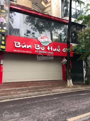 Cho thuê nhà mặt phố Nguyên Hồng KD hàng ăn uống 120m2 mặt tiền 7m giá chỉ 16tr/th. LH: 0912962398 ảnh 0