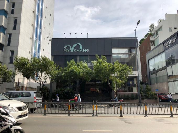 Cho thuê tòa 2 mặt tiền 187 Nguyễn Văn Trỗi, 22x35m, 1 hầm, 4 lầu, DTSD: 2.000 m2, giá 350 triệu/th ảnh 0