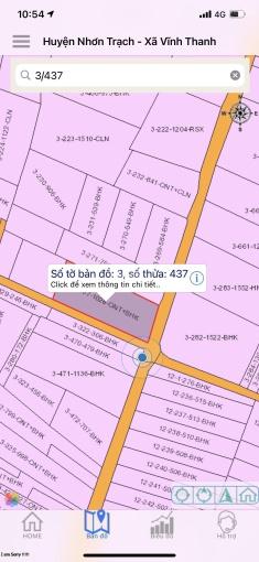 Chính chủ cần bán thửa đất 1028m2, có 200m2 thổ cư, khu dân cư Vĩnh Thanh, giá chỉ 6tr/m2 ảnh 0