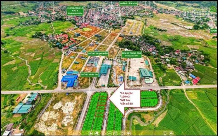 Chỉ từ 1 tỷ sở hữu ngay 120m2 đất Vàng trung tâm Nghĩa Lộ Yên Bái ảnh 0