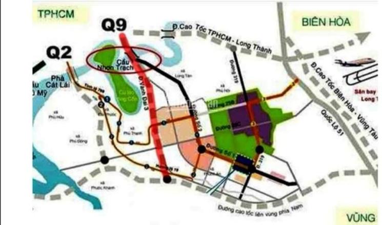 Chính chủ cần bán đất mặt tiền đường Nguyễn Hữu Cảnh, xã Long Tân, huyện Nhơn Trạch, Đồng Nai ảnh 0
