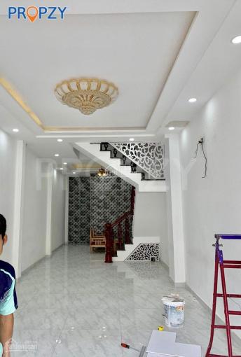 Bán nhà mặt tiền Tân Phú, đường Nguyễn Văn Săng, 4.05 - 14m, 1 trệt 2 lầu, Công Lý: 0932114799 ảnh 0