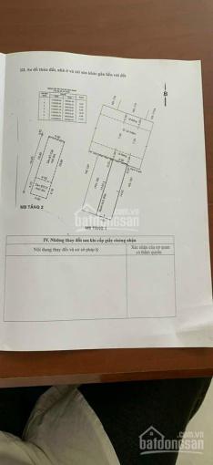 Bán nhà MT Lê Niệm, P. Phú Thạnh, Q Tân Phú, DT 4x15m vuông vức, giá 7.35 tỷ ảnh 0