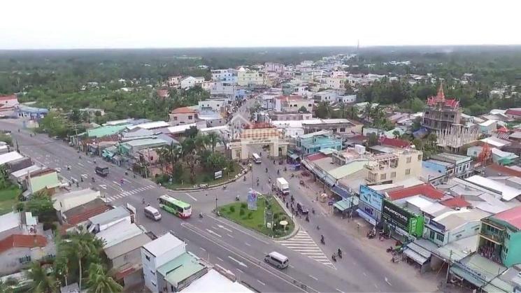 Bán nền vị trí đẹp trung tâm thị trấn Cái Tắc, mặt tiền lộ lớn ảnh 0