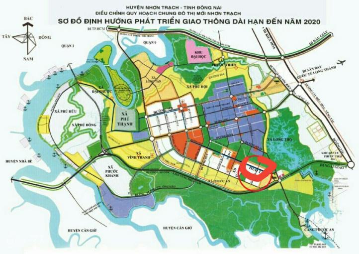 Bán nhanh mua nhanh đất dự án HUD & XDHN, Nhơn Trạch, Đồng Nai, sổ hồng, LH 0911 252 752 ảnh 0