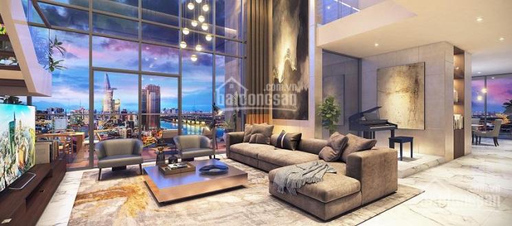 Luxury! Cho thuê Penthhouse Masteri Millennium Quận 4 nội thất sang trọng giá 100 tr/tháng ảnh 0