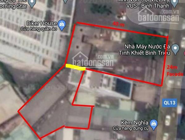 Cho thuê xưởng nát MT QL 13, P26, Bình Thạnh, DT: 24x40m, NH 50m CN 1768m2 - HĐT 10 năm 250 tr ảnh 0