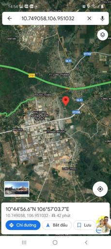 Bán đất 15x53m sổ riêng, thị trấn Hiệp Phước, Nhơn Trạch, Đồng Nai, giá tốt lắm ạ ảnh 0