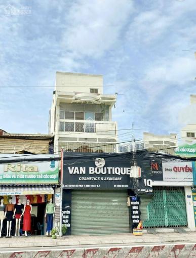 Bán rẻ nhà 4 tầng mặt tiền đường Huỳnh Tấn Phát, Quận 7 vị trí đẹp nhất 4.5x20m giá chỉ 15.99 tỷ ảnh 0