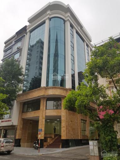 Cần cho thuê tòa nhà mới hoàn thiện mặt phố Nguyễn Xiển. DT 140m2*8T + 1 hầm lô góc đẹp, 120tr/th ảnh 0