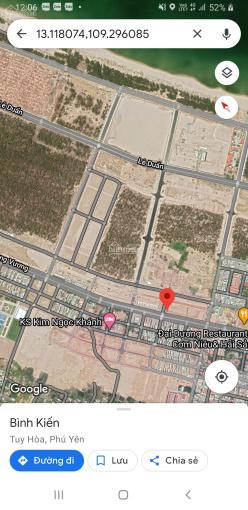 Bán gấp lô góc 174m2 duy nhất mặt đường Hùng Vương, TP Tuy Hòa đẹp giá tốt ảnh 0