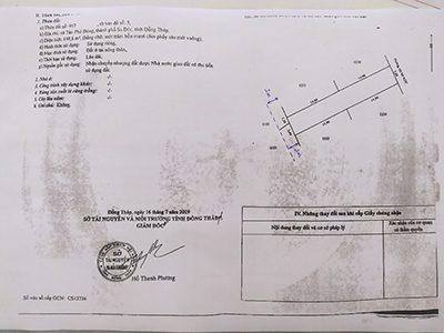 Chính chủ bán 2 lô đất mặt tiền tại Tân Phú Đông, TP Sa Đéc, Đồng Tháp ảnh 0