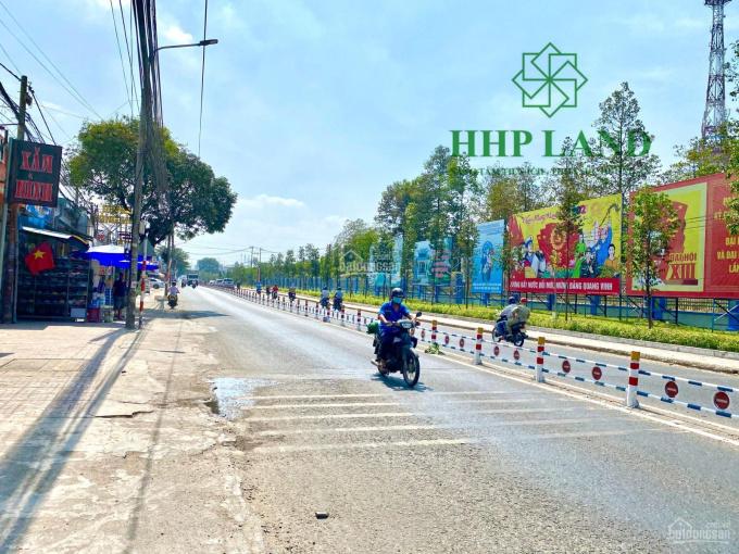 Cho thuê mặt bằng kinh doanh 2 mặt tiền trước sau đường Bùi Văn Hòa ngang 13.5m. LH 0973010209