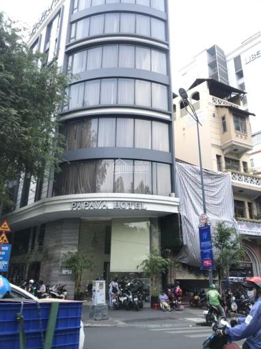 Bán tòa nhà mặt tiền đường góc Ngô Gia Tự - Trần Nhân Tôn, quận 10. Hầm 6 lầu sân thượng thang máy ảnh 0