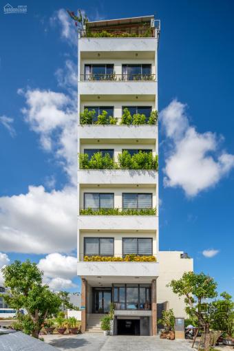 Bán toà nhà căn hộ, văn phòng cho thuê đường Đỗ Pháp Thuận, khu Lotte, 8 tầng, view sông ảnh 0