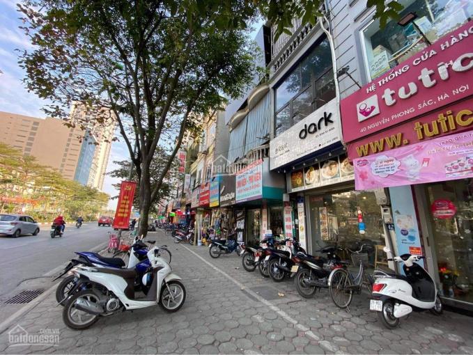 Cho thuê nhà mặt phố 50m2 x 5 tầng, vỉa hè rất rộng, vị trí đắc địa nhất dãy phố Nguyễn Phong Sắc ảnh 0