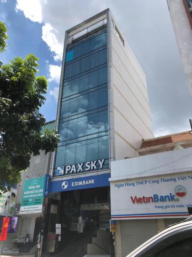 Cho thuê gấp Building 5 lầu mới 100% MT đường Lạc Long Quân, đoạn 30m đẹp nhất, 5x23m, chỉ 45tr/th ảnh 0