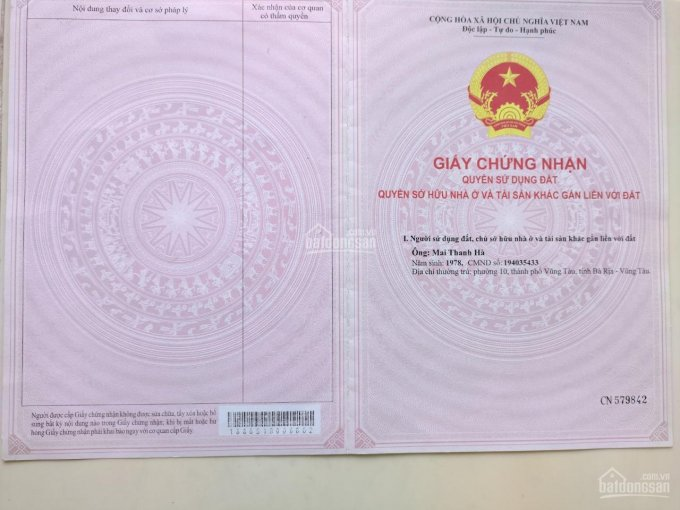 Bán đất chính chủ - thổ cư tại Nam Lý, TP Đồng Hới, Quảng Bình ảnh 0