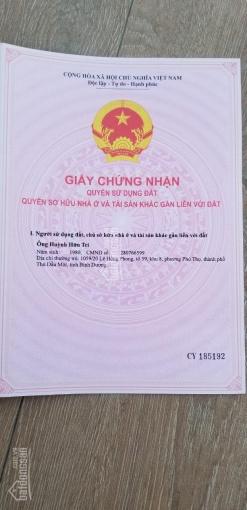 Bán gấp nhà giá rẻ ngay đường Lê Hồng Phong-Thủ Dầu 1, SHR chính chủ bao sang, xem nhà thỏa thuận ảnh 0