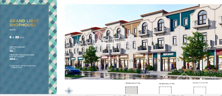 Rổ hàng chuyển nhượng shophouse Aqua City, diện tích 8x20m, giá chỉ 12,6 tỷ, toàn giá, 0977771919 ảnh 0