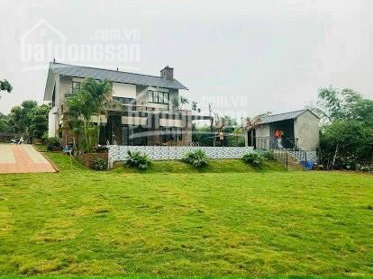 Bán gấp biệt thự, homestay nghỉ dưỡng cuối tuần tại Cư Yên, Lương Sơn - Giá siêu rẻ